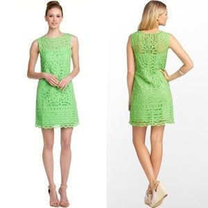 Lilly Pulitzer Tabitha Lace Dress Green